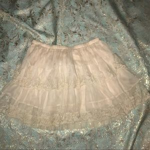 Delicate Lace skirt 🌷